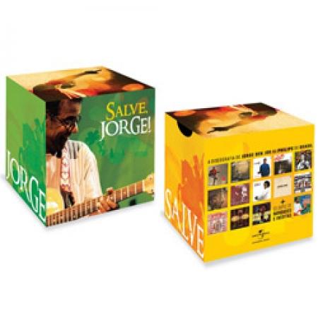BOX Jorge Ben Jor - Salve, Jorge 14CDS