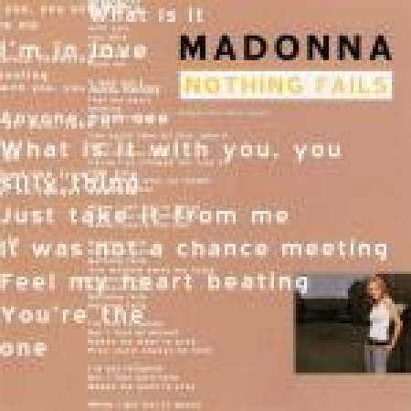 Madonna – Nothing Fails CD SINGLE IMPORTADO