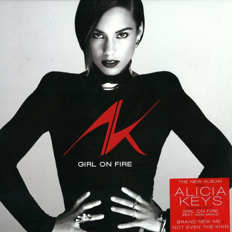 LP Alicia Keys - Girl On Fire (VINYL DUPLO IMPORTADO LACRADO) (886979418219)