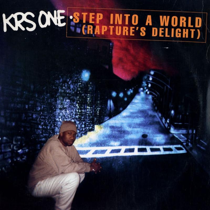 LP Krs One - Step Into A World VINYL SINGLE IMPORTADO
