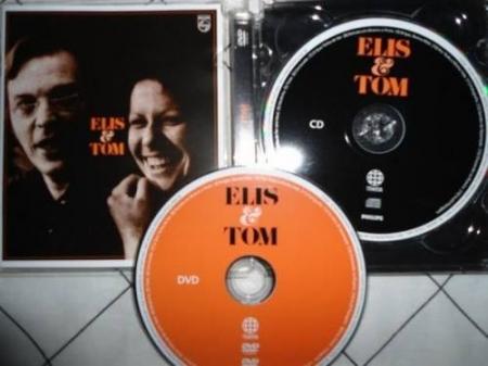 Elis & Tom - Ediçao Especial CD + ( DVD Audio)