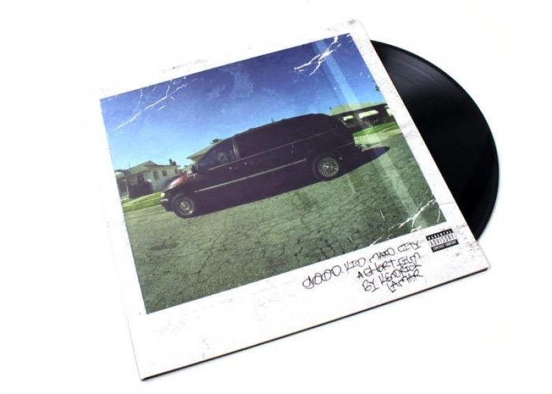 LP Kendrick Lamar - Good Kid MAAD City (VINYL DUPLO IMPORTADO LACRADO)