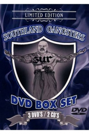 Box Mister D - Southland Gangsters 3 Dvds 2 Cds