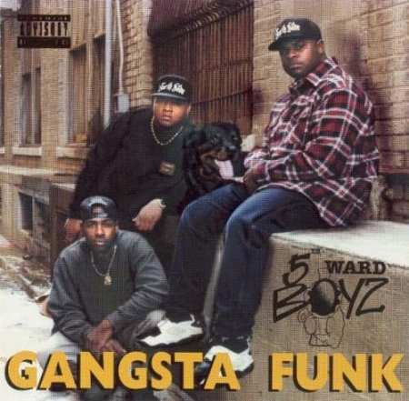 5th Ward Boyz - Gangsta Funk  PRODUTO INDISPONIVEL