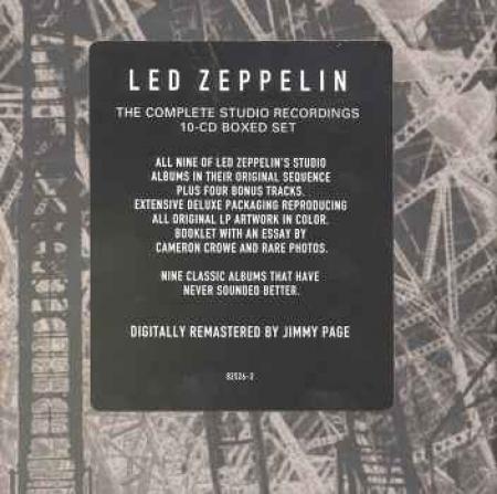 BOX Led Zeppelin - The Complete Studio Recordings 10 Cds PRODUTO INDISPONIVEL