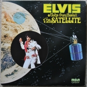 LP Elvis Presley - Aloha  Hawaii Via Satellite Duplo E Importado