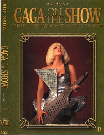 Lady Gaga - Gaga On The Show DVD