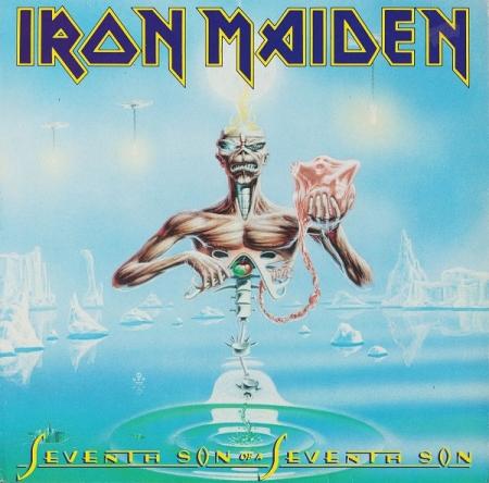 LP Iron Maiden - Seventh Son Of A Seventh Son VINYL Picture Edition Disc Importado
