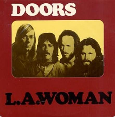 LP The Doors - L.A. Woman VINYL IMPORTADO 180 GRAMA (LACRADO)