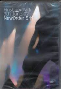 New Order - 511 - Finsbury Park 9th June 02 DVD