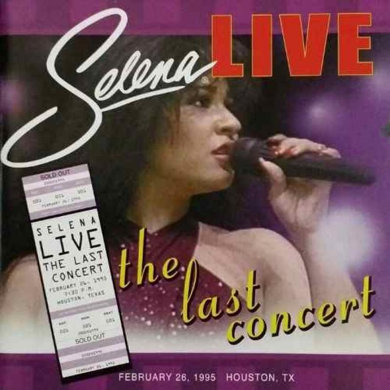 Selena - Live The Last Concert  IMPORTADO (CD)