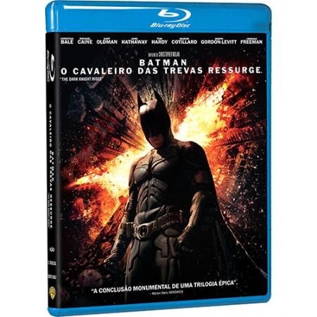 Batman - O Cavaleiro das Trevas Ressurge 2 discs (BLU-RAY)