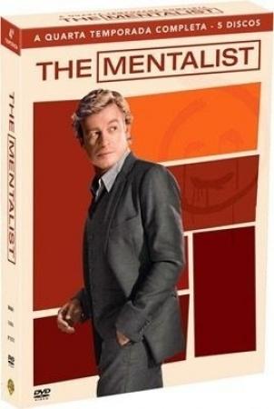 Box The Mentalist - 4 Temporada - 5 Dvds Original
