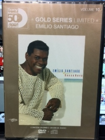 Emilio Santiago - Gold Series Limited Volume 10 (CD + DVD  Lacrado E Raro )