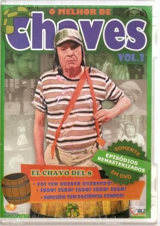 O Melhor Do Chaves 3 DVD