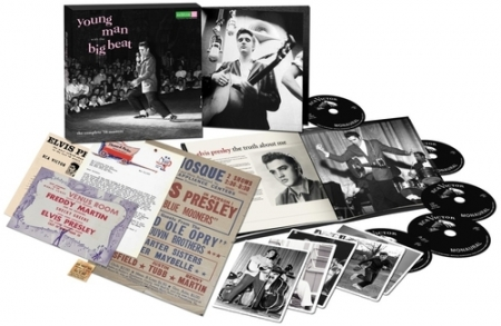Box Elvis Presley - Young Man With the Big Beat 55th Anniversary PRODUTO INDISPONIVEL