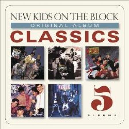Box New kids on the Block - original album CLASSICS 5CDS IMPORTADO