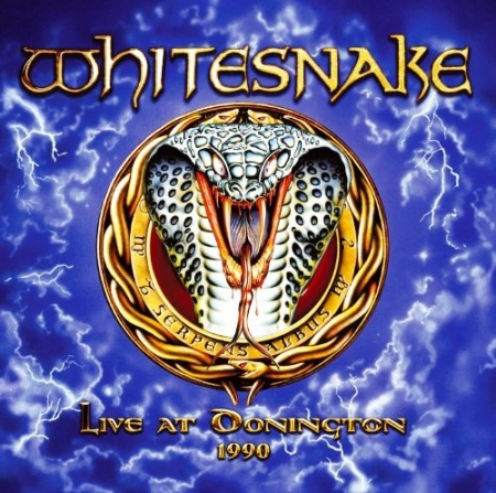 LP Whitesnake - Live At Donington 1990  3 Vinyl Importado
