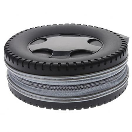 Storage Bag Holder - Pneu de carro design 40 cds PRETO