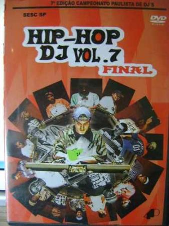 DVD Hip Hop Dj Vol 7