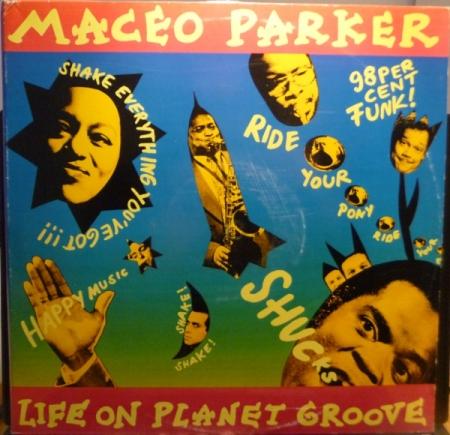 LP Maceo Parker - Life On Planet Groove VINYL DUPLO IMPORTADO (LACRADO)