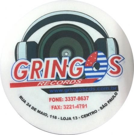 FELTROS GRINGOS RECORDS BRANCO