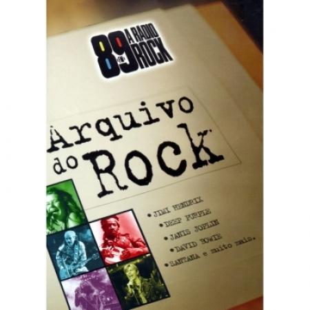 ARQUIVO DO ROCK - 89 FM A RADIO ( DVD LACRADO )